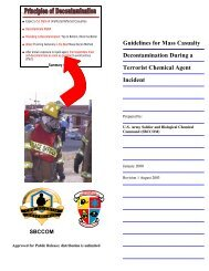 Guidelines for Mass Casualty Decontamination During a Terrorist ...