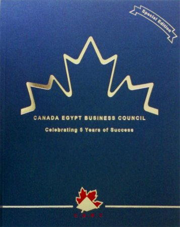 The Trade Missions - Canada Egypt Business Council