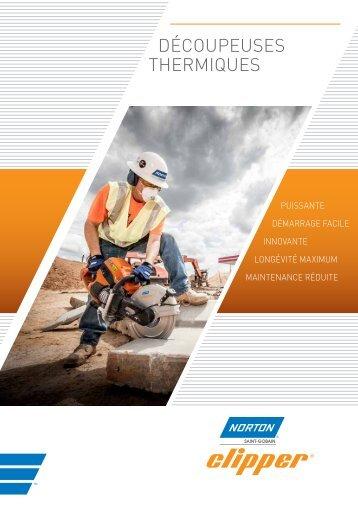 Brochure découpeuses thermiques - Norton Construction Products