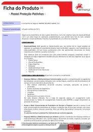 Ficha do Produto (1) - Postal Proteção Patinhas - CTT