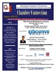 70th Annual Meeting & Luncheon - The Quinnipiac Chamber of ...