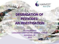 an investigation - Compost Council of Canada