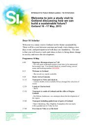 Programme on May 16-17 Gotland - Svenska institutet