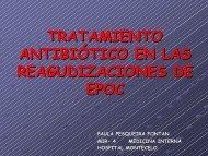 tratamiento antibiótico en las reagudizaciones de epoc