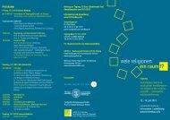 viele religionen ein raum !? - Herbert-Quandt-Stiftung