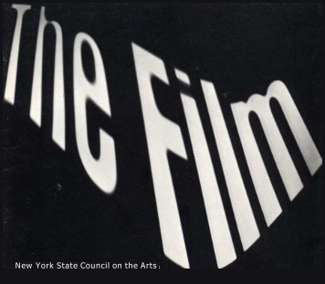 The Film (pdf) - Experimental Television Center