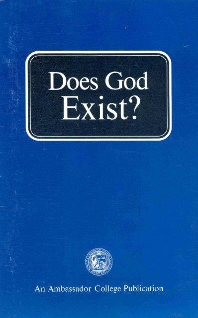 Does God Exist? - Heartsofthefathers.org