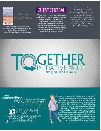 Together Initiative - Otterbein Church