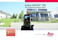 Leica DISTO™ D5 - MICRONIX, spol. s ro