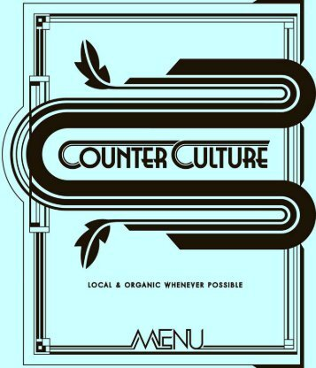Download menu as .pdf - Counter Culture
