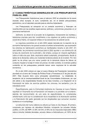 Del Presupuesto de la Comunidad Autónoma Canaria