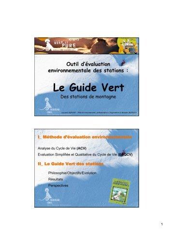 II_ Le Guide Vert - Mountain Riders