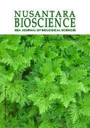 Nus Biosci | vol. 1 | no. 3 | pp. 105-158 | November 2009 - UNS