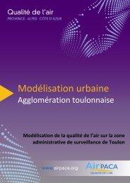 Modélisation urbaine - Atmo Paca