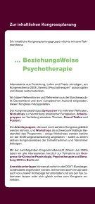 … BeziehungsWeise Psychotherapie - DGVT - Seite 4
