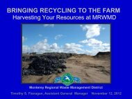 Bringing Recycling to the Farm Harvesting Your Resources at ...