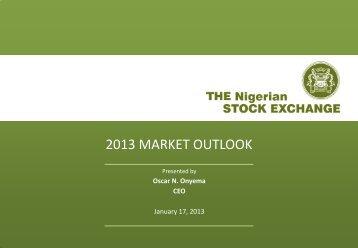 Presentation - The Nigerian Stock Exchange