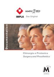 Chirurgia e Protesica Surgery and Prosthetics IMPLA Das Original