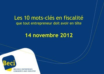 """""""abus fiscal"""". - BECI"""