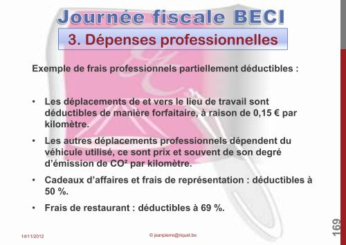"""abus fiscal"". - BECI"