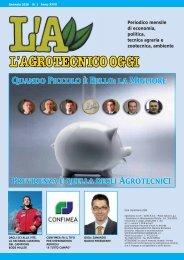 L'Agrotecnico Oggi gennaio 10 - Collegio Nazionale degli Agrotecnici