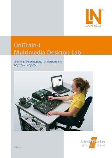 UniTrain-I Multimedia Desktop Lab - techno volt