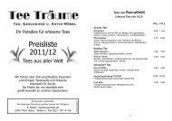 Preisliste 2011/12 - Leben in Sülz