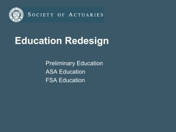 Education Redesign