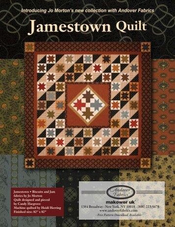 Jamestown Quilt Jamestown Quilt - Stitch-N-Frame