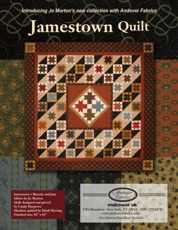 Jamestown Quilt Jamestown Quilt - Stitch-N-Frame