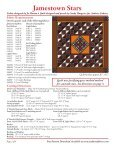 Jamestown Quilt Jamestown Quilt - Stitch-N-Frame - Page 2