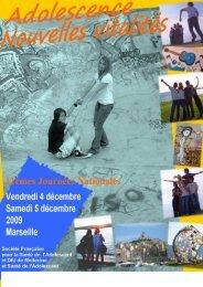 Marseille, 4 et 5 décembre 2009 - SFSA : Société Française pour la ...