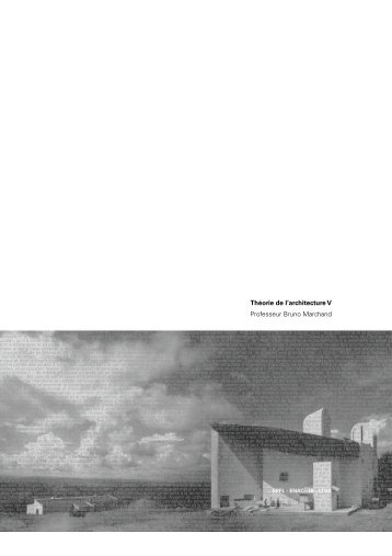 11. Nouveaux paradigmes: grilles modulaires et Â«mat-buildings