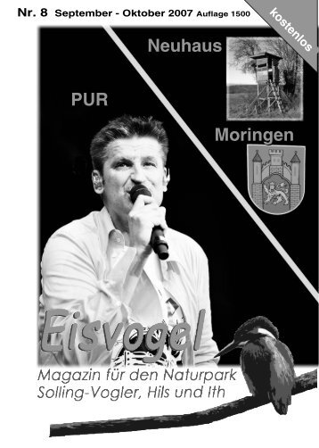 Eisvogel - 2. Jahrgang, Ausgabe 8, September-Oktober 2007