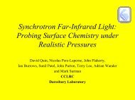 Probing Surface Chemistry under Realistic Pressures