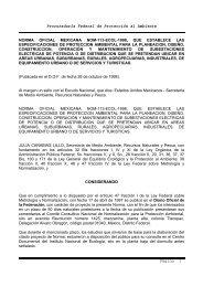 Procuraduría Federal de Protección al Ambiente Página 1 NORMA ...