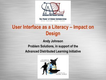 View Slides - Advanced Distributed Learning