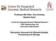 UK Biobank Bill Ollier - P3G