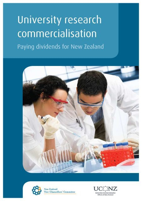University research commercialisation: paying dividends for New ...