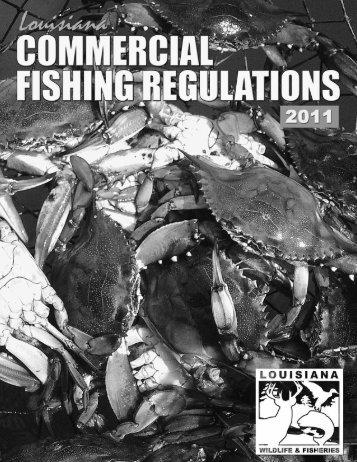 Commercial Fishing Regulations - Louisiana Department of Wildlife ...