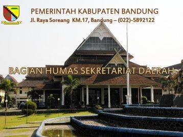 Bagian Humas - Pemerintah Kabupaten Bandung