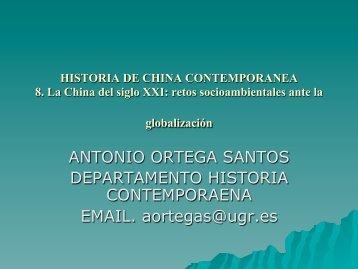 8 CUESTIONES AMBIENTALES.pdf - Historia Contemporánea