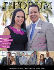 May-June 2012 The Forum - Collier County Medical Society