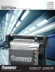 Summacut Series Brochure - LexJet