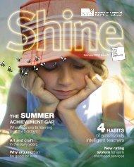 Shine Magazine, Issue 1, February 2010 - Department of Education ...