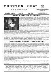 July 2004 - Chewton.net