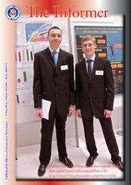 Matthew Robert and Alexander Zakharov proudly display their ...