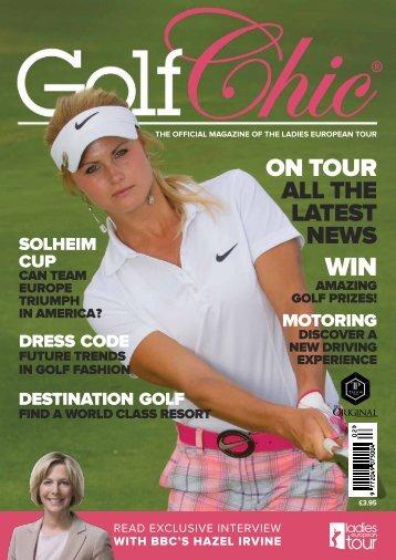 2013 Golf Chic (pdf version) - Ladies European Tour