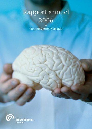 Rapport annuel 2006 - Brain Canada