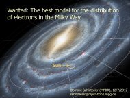 The best model for the distribution of electrons in the Milky Way
